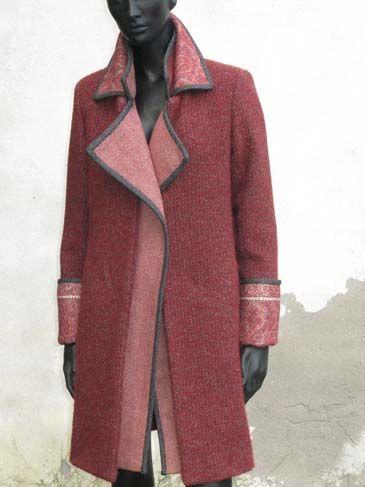 Indalia Fashion - Asian and Italian fabrics combined with Italian tailoring. Inspiration.