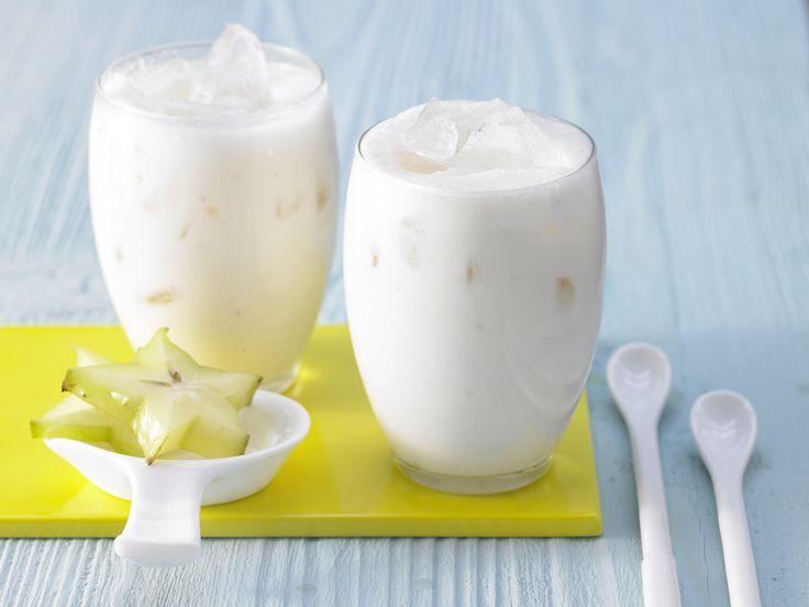 Weißer Tee-Smoothie - mit Karambole und Cherimoya - smarter - Kalorien: 95 Kcal - Zeit: 10 Min. | eatsmarter.de Ein Smoothie mit weißem Tee - exklusiv und lecker!