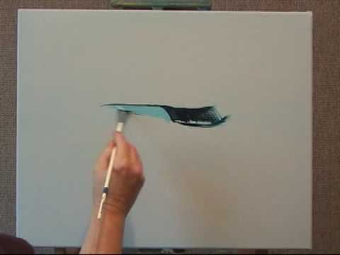 Learn How To Create a Large Wave The Easy Way. I will show you step by step on how to create realistic looking Large Wave with Oil Paints.