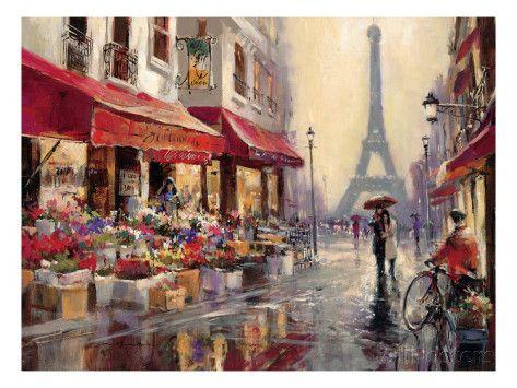 Aprile a Parigi Stampa artistica