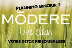 Detox Modere : Planning minceur pour personnes actives