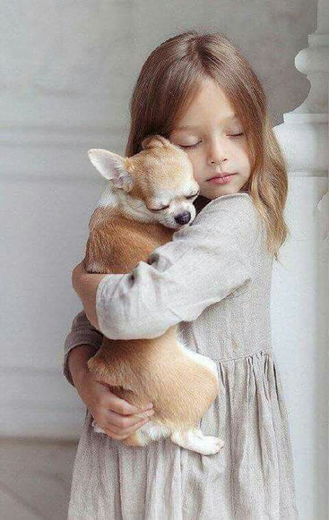 Lovely friends  | kids with pets | | pets | | kids |  #pets https://biopop.com/