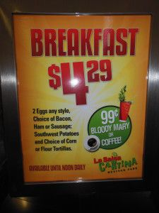One of the best breakfast deals on the Las Vegas Strip