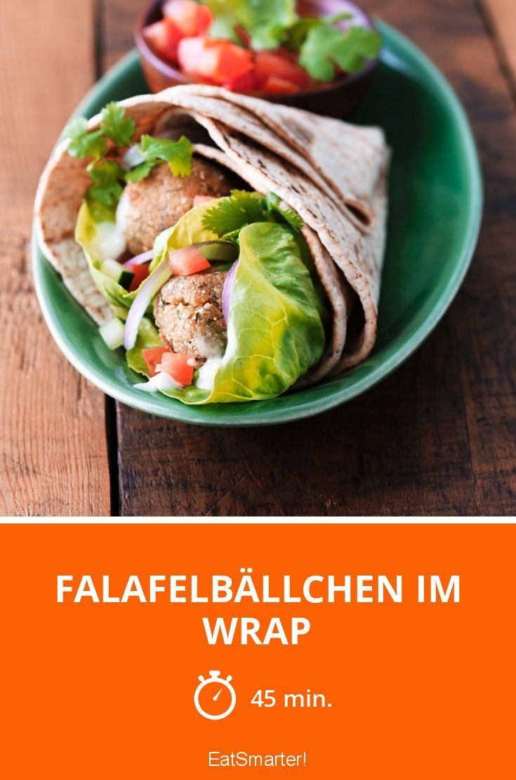 falafelb llchen im wrap rezept leckere vegane rezepte pinterest falafel vegan. Black Bedroom Furniture Sets. Home Design Ideas