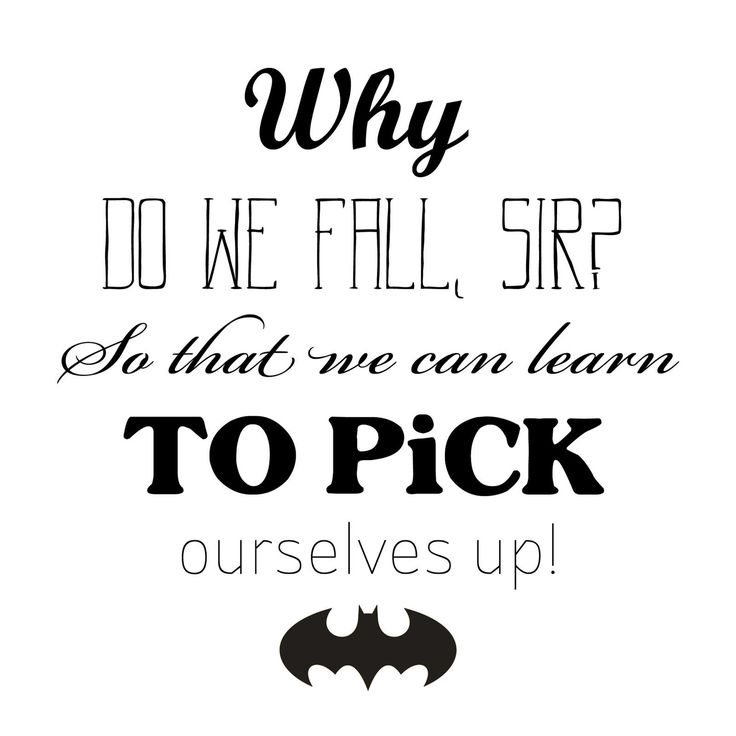 """Batman quote embroidery template - by """"Fee ist mein Name"""""""