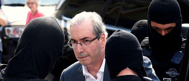 Notícias ao Minuto - Cunha foi preso com medo de rebelião em presídio, diz colunista