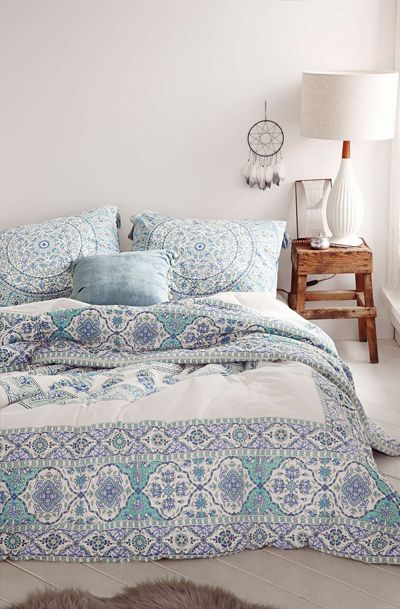Lovely Clusters Boutique: Magical Thinking Devi Medallion Comforter