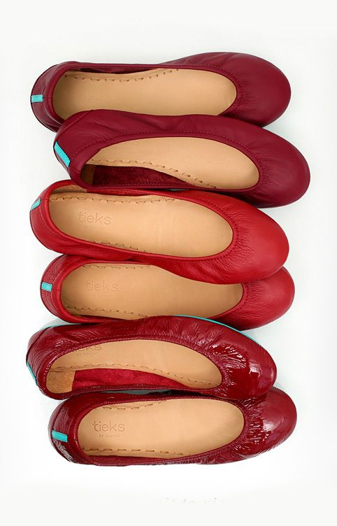 We're willing to bet that red flats will never go out of style #tieks