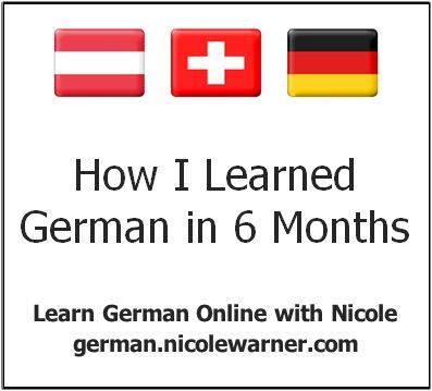 This is the true story of how I became FLUENT in German in 6 months. And how you can do it, too!