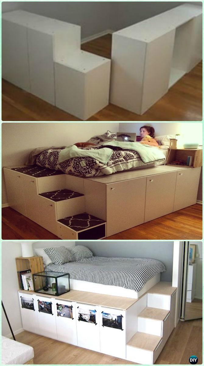 Diy Ikea Kitchen Cabinet Platform Bed Instructions E Savvy Frame Design Concepts