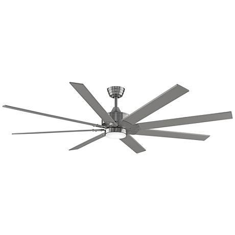 """Bronze color!!!  Living room, Dining, Master.                            72"""" Fanimation Levon DC Brushed Nickel LED Ceiling Fan"""