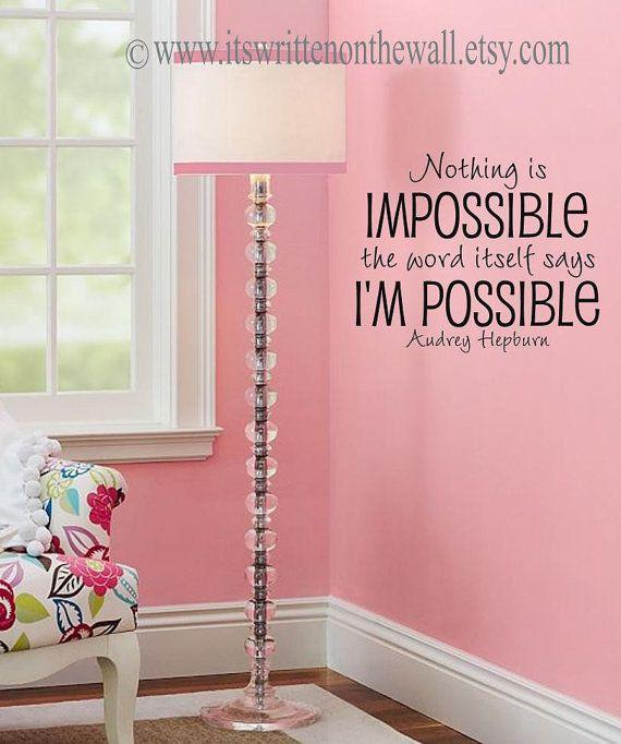 Girly Bedroom Audrey Hepburn Poster: Best 25+ Teenage Bedroom Quotes Ideas On Pinterest