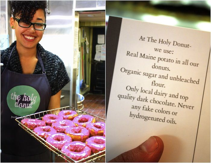 We reviewed Maine's only hand-made #VEGAN Potato Donuts at The Holy Donut in Portland and (spoiler!) WE LOVED THEM! Read the rest of our review here--> http://www.fettlevegan.com/8/post/2013/11/the-holy-donut-portland-maine.html