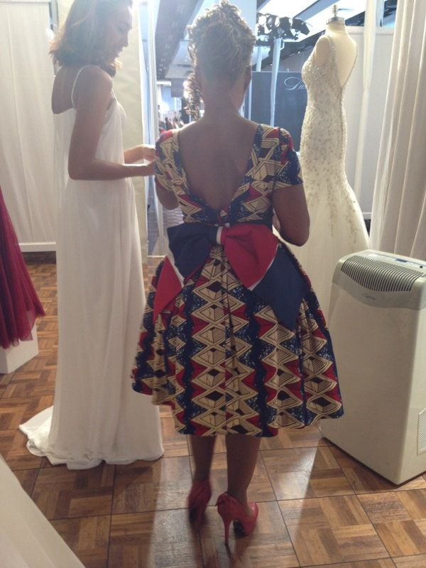 Stella Dutch Hollandais African print dress by LiLiCreations, $125.00