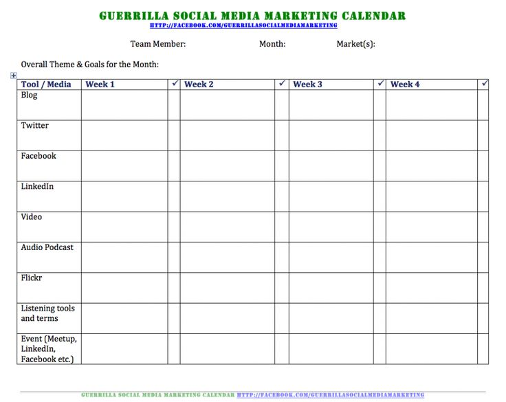 163 best Work Content \ Social Media images on Pinterest - social media calendar template