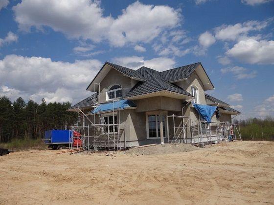 Kolejne etapy budowy Benedykta 2  #Projekt #dom #architektura