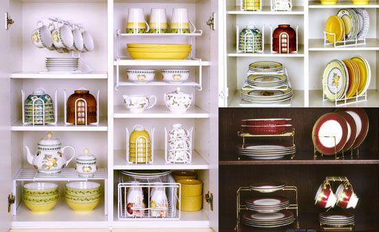 【楽天市場】食器収納ラック(食器棚の収納スペースを有効活用!):えつこの便利収納ラック | iemo[イエモ] | リフォーム&インテリアまとめ情報
