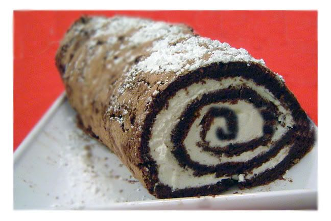 lighter-than-air chocolate roll | Cakes | Pinterest