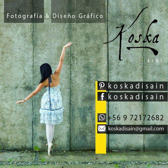 Contactos Koska, fotografía & diseño gráfico en Valdivia.