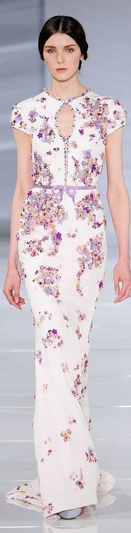 ♔Return To Flowers♔ - Georges Hobeika couture 2015/16