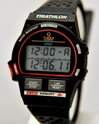 Ironman Timex Triathlon Watch Instructions