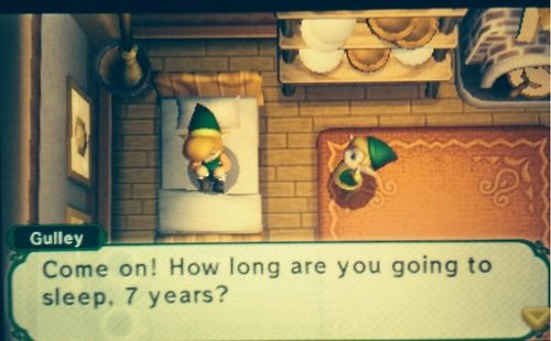 oh my word <- NINTENDO I LOVE YOU....I have this game!!! (Legend of zelda a link between worlds)