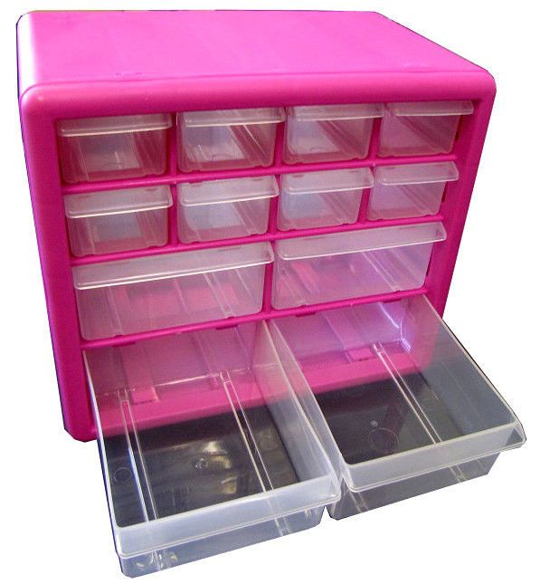 17 best images about organizing on pinterest art girl for Plastic craft storage drawers