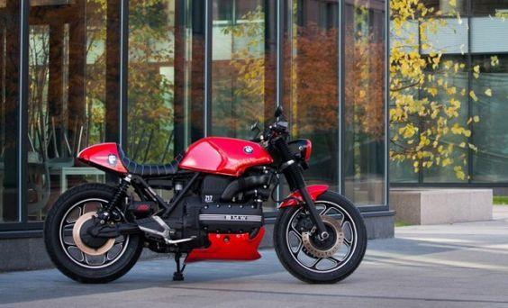 BMW K100 ~ Z17 CUSTOMS ~ THE BIKE SHED