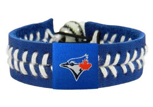 MLB Toronto Blue Jays Team Color Baseball Bracelet - Price: $8.57