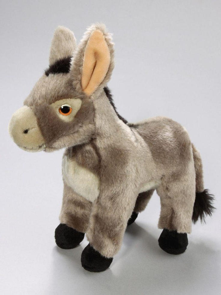 Cuddly toy donkey standing | Cute stuffed animals, Toys ...