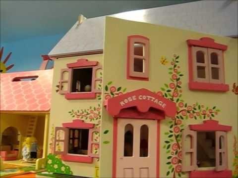 Oltre 20 migliori idee su case di bambole su pinterest for Piani casa cottage acadian
