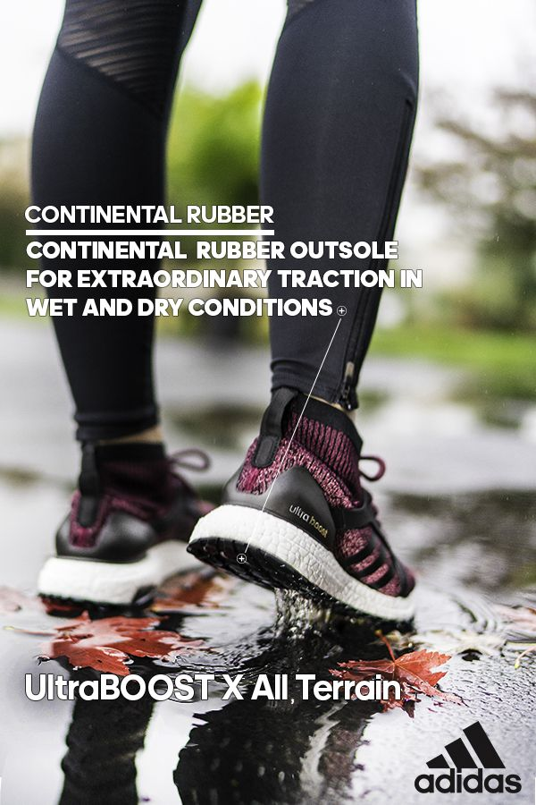 ffe6d51fded4b The STRETCHWEB CONTINENTAL Outsole on the UltraBOOST X All Terrain provides  superior grip and traction on all surfaces