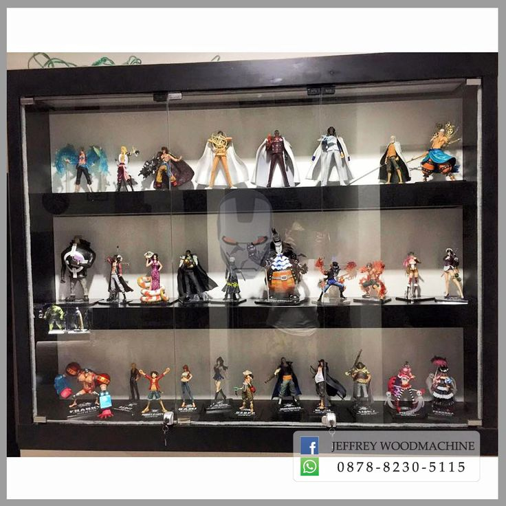 display cabinet, lemari pajangan, lemari pajang kaca, toys, jeffrey woodmachine, rak pajang, scm, shf
