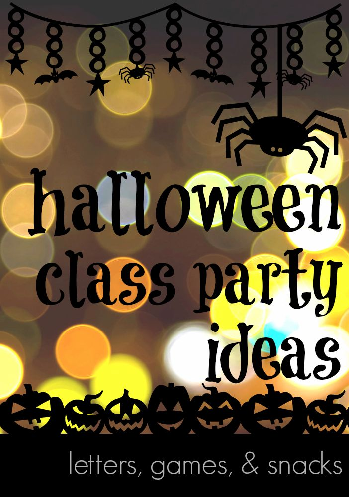 halloween class party ideas  from start to finish --> MUST read