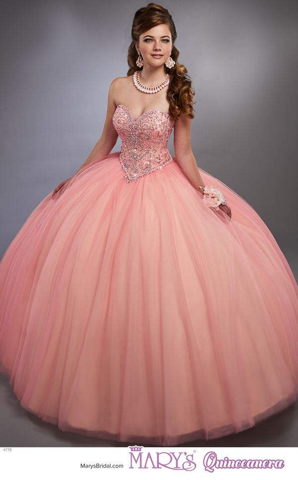 411 best Vestidos quinceañera images on Pinterest | Formal dresses ...