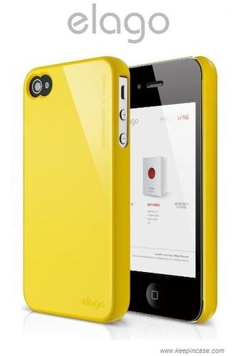 elago S4 Slim Fit 2 Case for iPhone 4/4S - Sport Yellow ebay.com.au