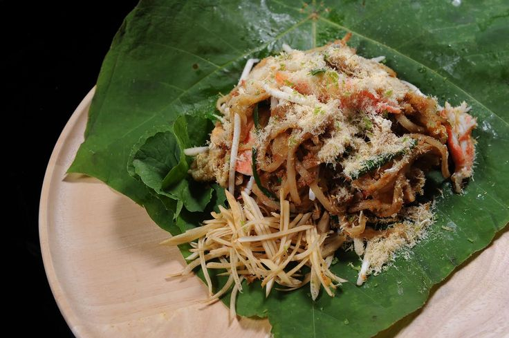 Chanthaburi Province Noodles with Blue Swimmer Crab, Curry Paste, Fresh Coconut Milk - Powered by @ultimaterecipe