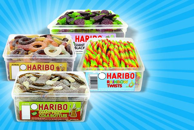 Giant Haribo Tub