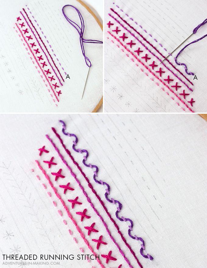 DIY: Heart Embroidery Sampler (For Beginners)