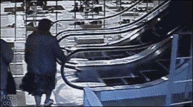 Escaleras mecánicas GIF