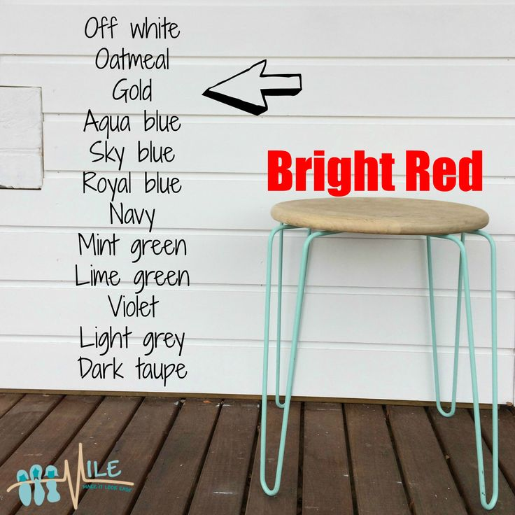 Bright red goes with...