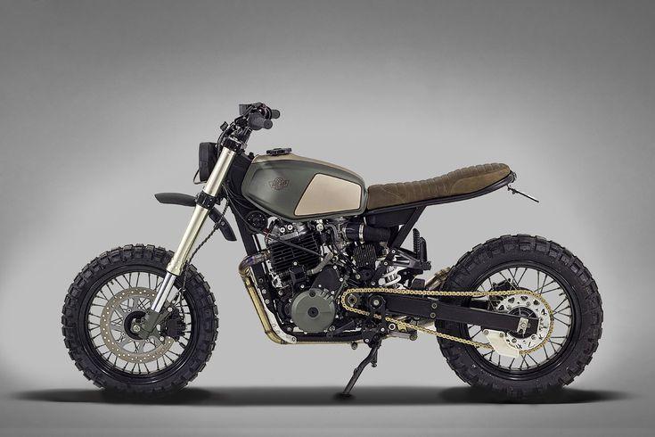 A Honda 650 for Africa: Ton-Up Garage's Muxima | Bike EXIF