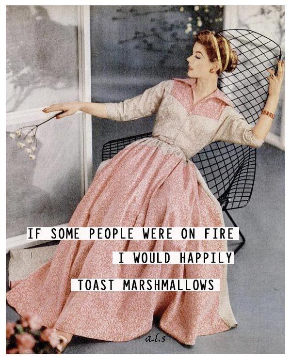 Happily! #retro #humor