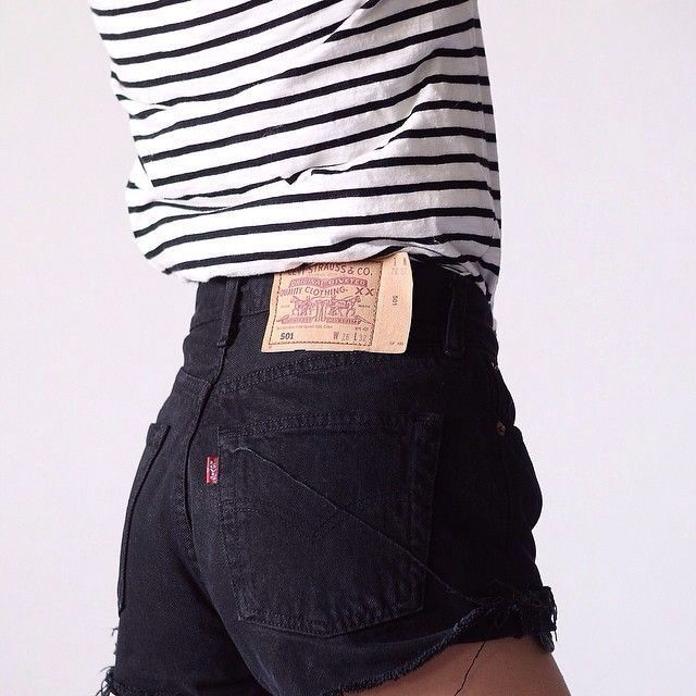listras e jeans.