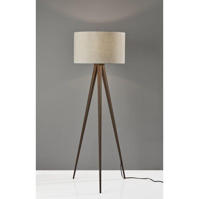 Benjy 60 Tripod Floor Lamp Directors Floor Lamp Tripod Floor Lamps Floor Lamp