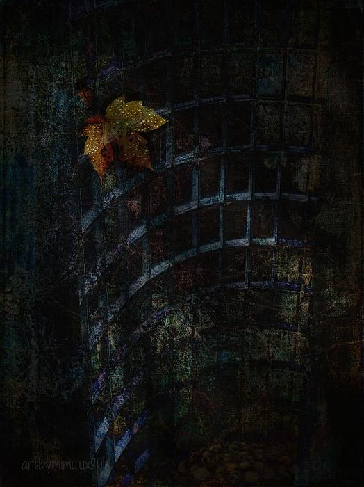 Forgotten  Dark Digital Art by mimulux patricia no  Fine Art Prints, Posters & Cards for sale