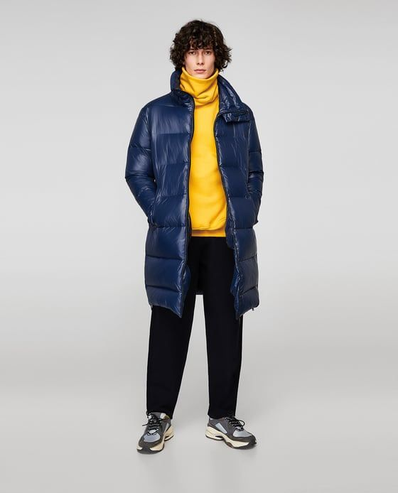 Image 1 of DOWN PUFFER COAT from Zara