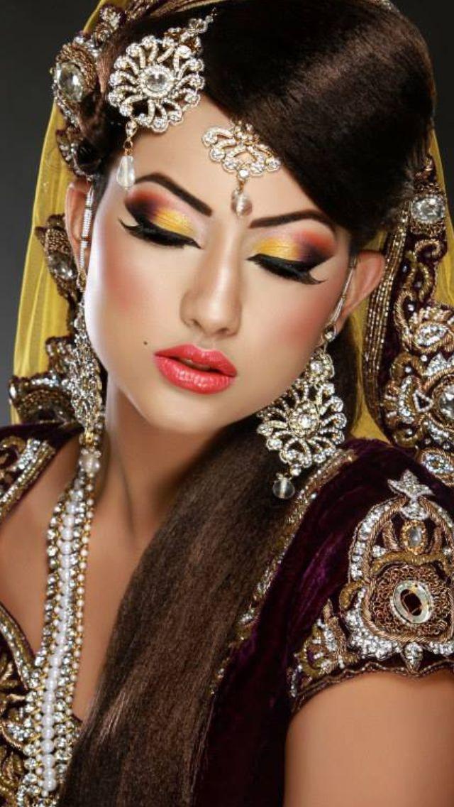 Love this pakistani bridal makeup