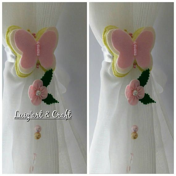 Hey, I found this really awesome Etsy listing at https://www.etsy.com/pt/listing/522641451/set-of-2-light-yellow-felt-butterfly
