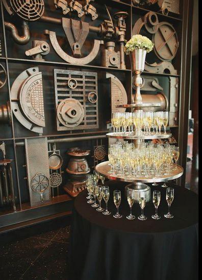 Champagne Tower PropHouse Vulcan Park